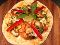 Evening Special: Red curry pizza