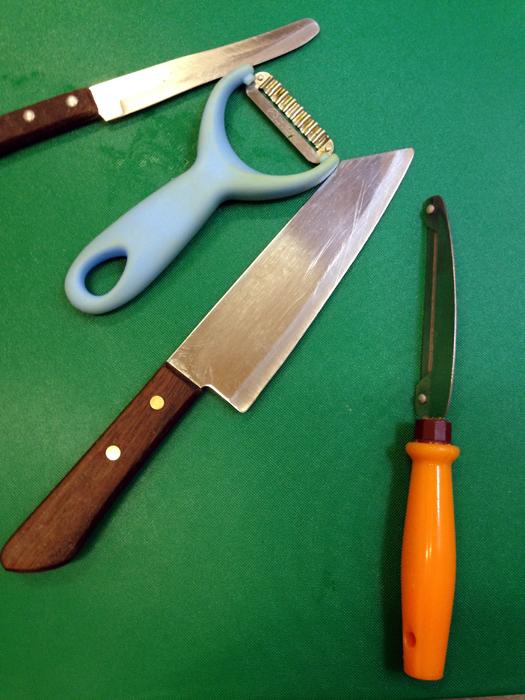 Vegetables slicing tools
