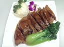 Soya Duck with Asian Greens
