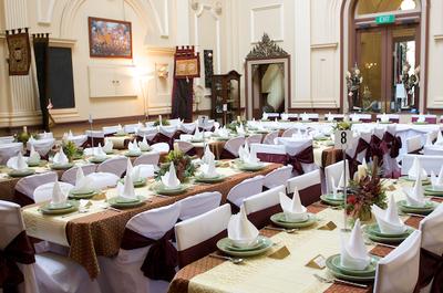 Wedding function setup